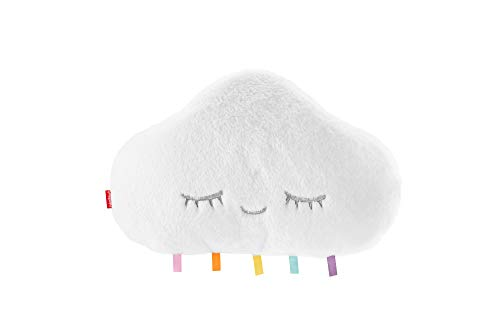 Fisher-Price Twinkle & Cuddle Cloud Soother, Plush Crib-Attach Baby...