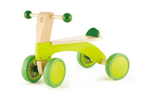 Hape Scoot Around Ride On Wood Bike | Award Winning Four Wheeled...