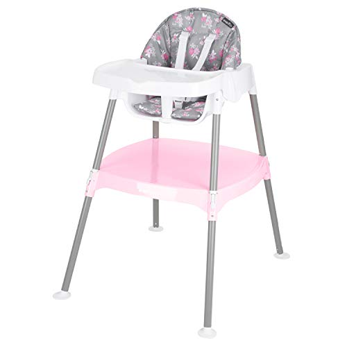 Evenflo 4-in-1 Eat & Grow Convertible High Chair, Poppy, Pack of 1