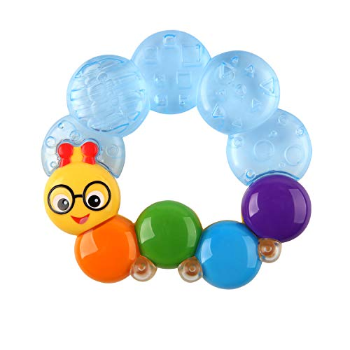 Baby Einstein Teether-pillar Rattle and Chill Teething Toy, Ages 3...