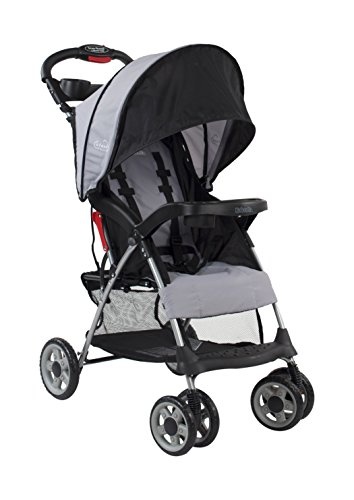 Kolcraft Cloud Plus Lightweight Easy Fold Compact Travel Stroller,...
