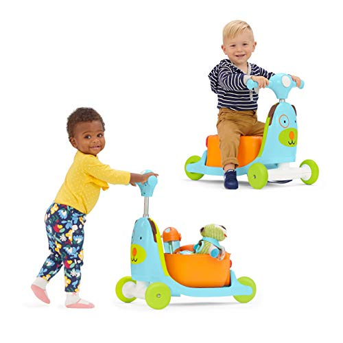 Skip Hop Kids 3-in-1 Baby Activity Walker & Ride On Scooter Wagon Toy,...