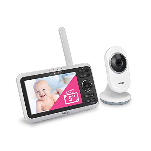 VTech VM350 Video Baby Monitor with 5' Screen, Long Range, Invision...