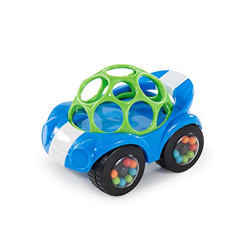 Bright Starts Easy Grasp Push Vehicle Toy - Ages 3 Months +, Oball...