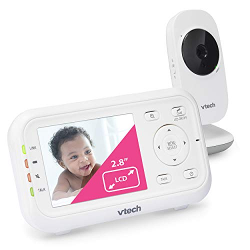 VTech Video Baby Monitor with 1000ft Long Range, Auto Night Vision,...