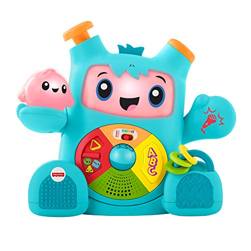 Fisher-Price Dance & Groove Rockit, Interactive Musical Infant Toy...