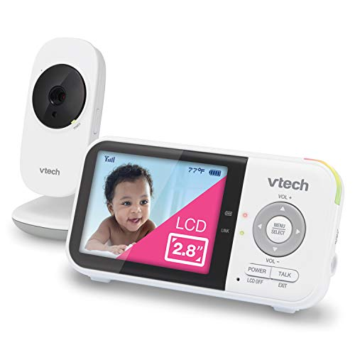 VTech VM819 Video Baby Monitor with 19-Hour Battery Life, 1000ft Long...