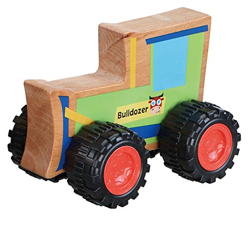 Pbs Everearth, Push Toy Bulldozer, 1 Each
