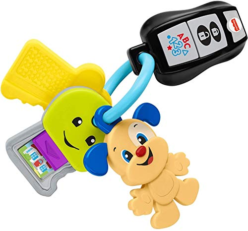 Fisher-Price Laugh & Learn Play & Go Keys, musical learning toy for...