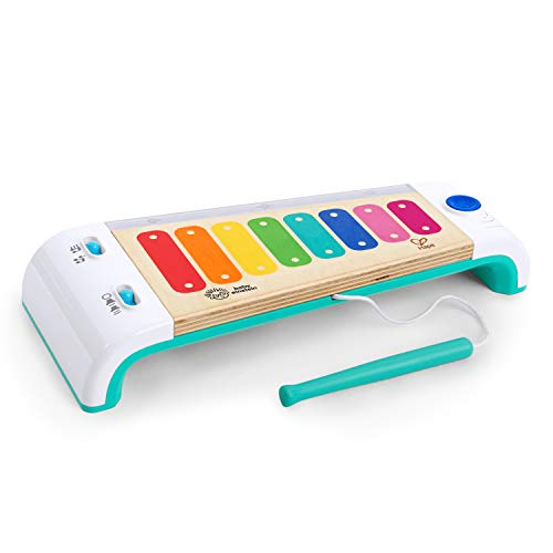 Baby Einstein Magic Touch Xylophone Wooden Musical Toy with Lights,...