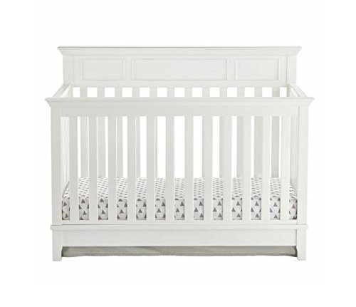 Kolcraft 4-in-1, Easy-to-Assemble, Harper Convertible Crib - Built-in...