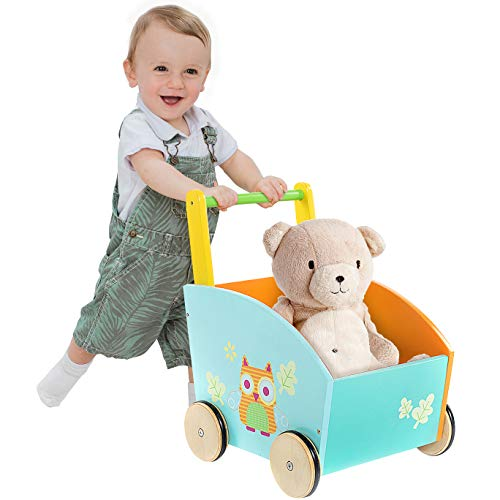 labebe - Baby Walker, Kid Shopping Cart Walker, Push Toy for 1-3 Years...