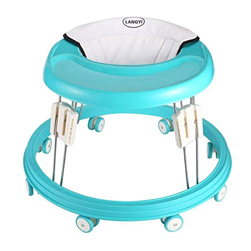 LANGYI Foldable Activity Baby Walker for Boys and Girls,...