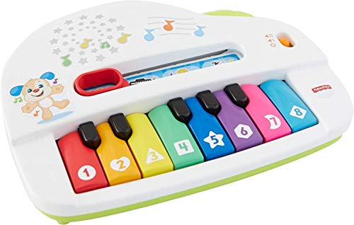Fisher-Price Laugh & Learn Silly Sounds Light-up Piano, Multicolored,...