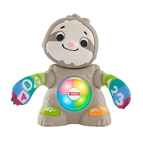 Fisher-Price Linkimals Smooth Moves Sloth, clapping baby toy with...