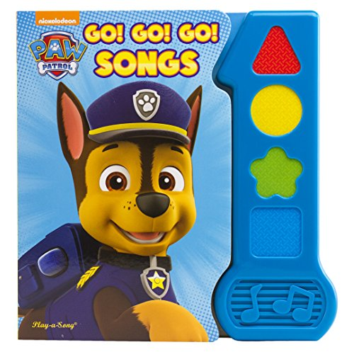 Nickelodeon Paw Patrol - Go! Go! Go! Songs - Baby's First Sound Book -...