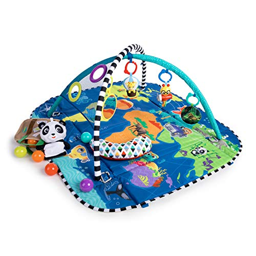 Baby Einstein 5-in-1 Journey of Discovery Activity Gym and Play Mat,...