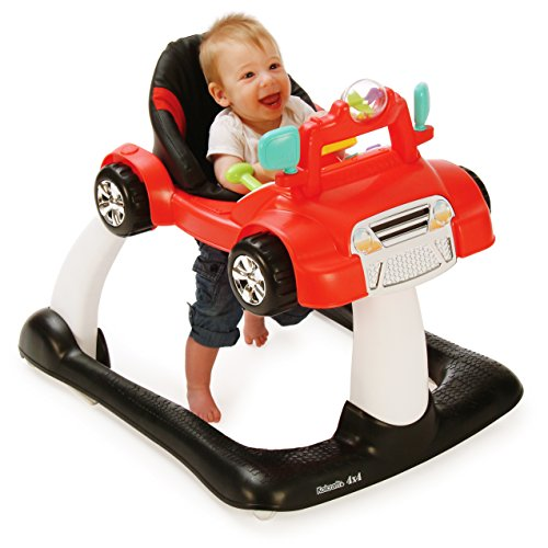 Kolcraft 4x4 2-in-1 Activity Walker -Electronic Toy Steering Wheel...