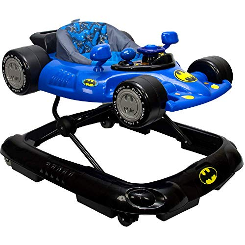 KidsEmbrace Batman Baby Activity Walker, DC Comics Car, Music and...