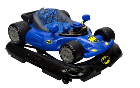 WB KitsEmbrace Baby Batman Activity Walker