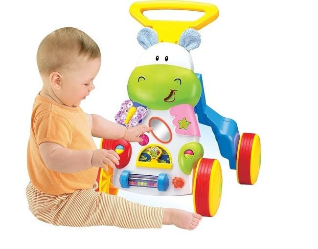 PLS Baby Hippo Toddler Walker 11