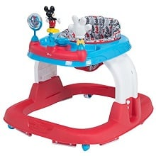 Disney Baby Ready Set Walk Walker, Mickey Line Up