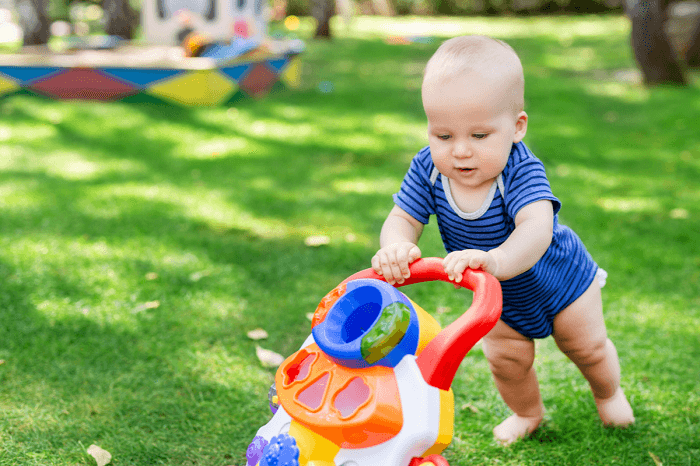 The best push walkers for baby
